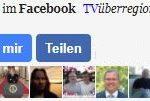 Folgen Sie TVüberregional im Facebook