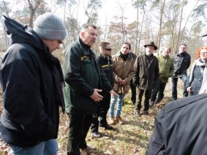 Gemeinde Reilingen PresseinformationNr. 10/2018 Oberforstrat Sebastian Eick, Leiter des Forstbezirks Rheintal – Bergstraße