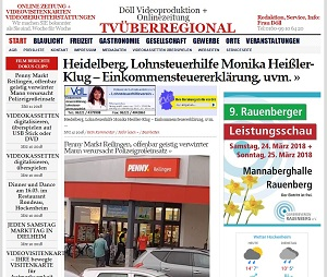 Heidelberg, Lohnsteuerhilfe Monika Heißler-Klug – Einkommensteuererklärung, uvm TVueberregional 300 pixel