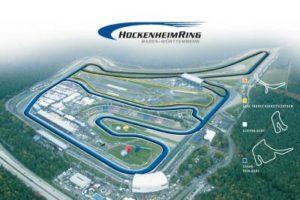 HockenheimRing Strecke Luftbild Hockenheim