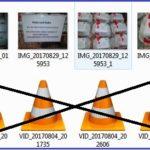 Miniaturansichten, Vorschaubilder von Videodateien, die Sie im Windows Explorer betrachten