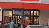 Penny Markt Reilingen, offenbar geistig verwirrter Mann verursacht Polizeigroßeinsatz