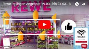 Rewe Reilingen Angebote 19.03 - bis 24.03.18