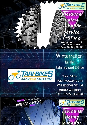 Tari-Bikes, Wintercheck, Fahrrad Service Walldorf 300x432 pixel