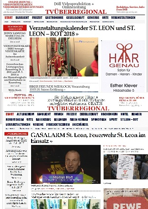 Veranstaltungskalender ST. LEON und ST. LEON – ROT 2018