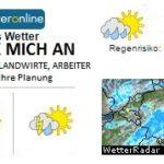 Wettervorhersage im Raum Hockenheim bis Eschelbach im Kraichgau
