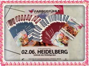 FARBGEFÜHLE FESTIVAL HEIDELBERG,JETZT TICKETS KAUFEN, Open - Air Festival World Tour 2018