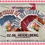 FARBGEFÜHLE FESTIVAL HEIDELBERG,JETZT TICKETS KAUFEN, Open – Air Festival World Tour 2018