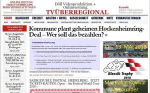 Hockenheim: Kommune plant geheimen Hockenheimring-Deal – Wer soll das bezahlen?  WICHTIG !   ALLE BÜRGER SIND HERZLICH WILLKOMMEN, ES IST EINE ÖFFENTLICHE, WICHTIGE SITZUNG.   Am 25.04.2018 ab 18 Uhr steht im Rathaus eine denkwürdige Gemeinderatssitzung an: Top 1 ist der Rahmenvertrag zur zukünftigen Nutzung des Hockenheimrings. ...  https://tvueberregional.de/kommune-plant-geheimen-hockenheimring-deal-wer-soll-das-bezahlen/