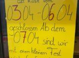 NEUERÖFFNUNG 7.4.18: Kiosk Am Eck in Reilingen