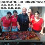 Hoffest Spanferkelhof Pichler zwischen Walldorf und Reilingen