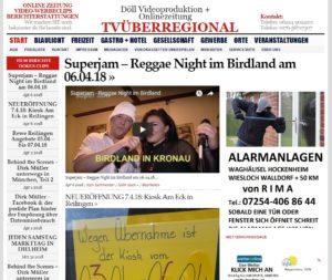 Superjam – Reggae Night im Birdland am 06.04.18