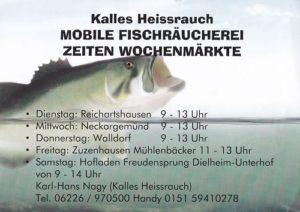 Freudensprung, Mobile Fischräucherei Kalles Heissrauch, Samstag Markttag Dielheim Freudensprung, 500 pixel, Veanstaltung Dielheim, Videoproduktion Dielheim, TVüberregional, Oliver Döll,