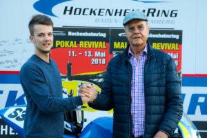 Heimspiel, Mai Pokal Revival, Hockenheimring, 11. bis 13.05.2018, Nicolai Kraft, Rennfahrer Hockenheim, Hockenheimring