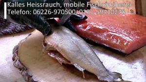 Kalles Heissrauch, mobile Fischräucherei, Kraichgau, Freudensprung Markttag, TVüberregional, Oliver Döll, Videoproduktion, Veranstaltungen ankündigen,