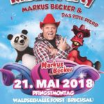 FORST, KINDERDISCO, Dj Teddybär, MARKUS BECKER LIVE, 21.05. 14:30 Uhr