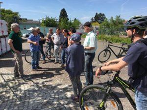 Kirrlach, Baumaßnahmen und Verkehrssituationen begutachtet - TVüberregional, Waghäusel Lokal