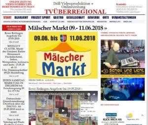 Malsch Veranstaltung Juni TVüberregional, was wann wo, Termine Rhein Neckar, Schall und Licht,
