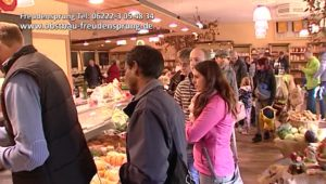 Markttag Dielheim, Freudensprung Markt, Fisch frisch geräuchert, Lachs, Forelle, Landmetzgerei, jeden Samstag