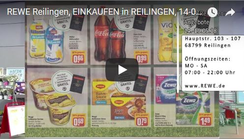 Rewe Reilingen Angebote Bis 19052018 Tvueberregional