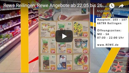 rewe reilingen rewe angebote ab bis tvueberregional. Black Bedroom Furniture Sets. Home Design Ideas