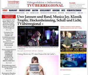 Uwe Janssen und Band, Musica Jay, Klassik Trophy, Hockenheimring, Schall und Licht, TVüberregional, Videoproduktion Hockenheim