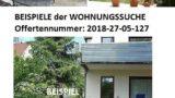 Wohnungssuche im vorderen Kraichgau, 3 ZKB mit Terrasse und Garten, Junges Paar, beide in Vollzeit beschäftigt