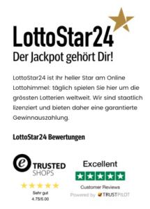 Seriöse Lottoanbieter, wie beispielsweise LottoStar24