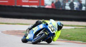 Doppelsieg mit erneutem Reifenpoker am Sachsenring, Nicolai Kraft