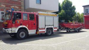 Feuerwehr Oberhausen-Rheinhausen, Abteilung Rheinhausen. Sponsor werden für Feuerwehrfest in Rheinhausen am 25. und 26.08.2018