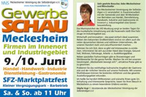 Gewerbeschau Meckesheim, SFZ Marktplatzfest, TVüberregional, Onlinezeitung, Videoproduktion, Meckesheim, Oliver Döll,