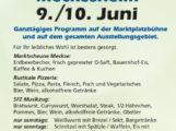Gewerbeschau Meckesheim, SFZ Marktplatzfest, 09.06.2018 um 11:00 Uhr bis 10.06.2018