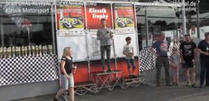 Hockenheim, Klassik Motorsport, Siegerehrung, Klassik Trophy, Mai Pokal Revival, Nicolai Kraft Rennfahrer, Klassik Trophy, Hockenheim Videoproduktion