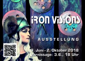 Iron Visons, Bildgewaltige Kunst-Ausstellung, PALATIN, 3. 6. - 2. 10. 2018
