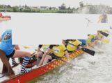 Drachenboot abgetrieben, Zeugen gesucht – Gemarkung 68167 Mannheim, Neckar-km 3,9 (Höhe Friedrich-Ebert-Brücke)