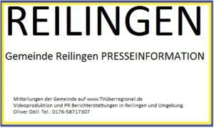 Gemeinde Reilingen PRESSEINFORMATION. Videoproduktion Reilingen, Oliver Döll, Videokassetten auf DVD oder USB überspielen, Werbevideoproduktion Reilingen,