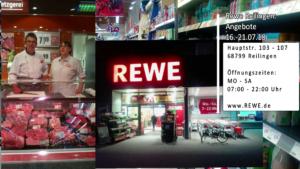 Rewe, Reilingen, Videoproduktion Reilingen, Oliver Doell, TVueberregional,