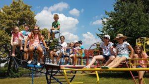 Spielplatztester, Spielplatzaktion war voller Erfolg, Kinder testeten in Kirrlach