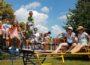 Spielplatzaktion war voller Erfolg,  Kinder testeten zunächst im Stadtteil Kirrlach