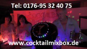 www.cocktailmixbox.de, Cocktailmixbox, mobile Cocktailbar