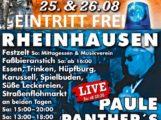 Ereignisreiches Feuerwehrfest in Rheinhausen