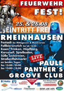 Feuerwehrfest Rheinhausen, August 2018 - 01