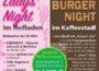 Ankündigung: OPEN AIR, Gonzo´s Jam, Lady´s Night, Burger Night: Großveranstaltung bei Freudensprung, Dielheim. 07.09.18