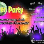90er Party bei der Freiwilligen Feuerwehr Mühlhausen