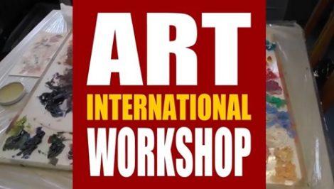 Filmbeitrag: ART INTERNATIONAL WORKSHOPS, ART STUDIO DEIKE, Jaime Valero, Heidelberg