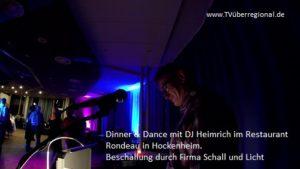 Dinner und Dance , Rondeau, Tanzen, Hockenheim, DJ Heinrich Bartolf (4) 500 pixel, Tanzlokal Hockenheim, TVüberregional, Hockenheim Videoproduktion, Onlinefernsehen, Oliver Döll,