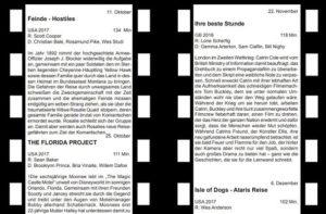 Pressenotiz - Filmclub – 11. Oktober 2018 Feinde – Hostiles – Regie: Scott Cooper – 134 Minuten