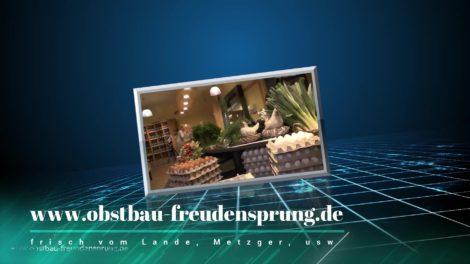Freudensprung, Dielheim, Obstbau, Hofladen, Kaffeestadl, Heimservice, Intro