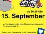 Ministrantenfest Waghäusel – Wiesental, Eintritt frei, Schanzenstrasse 1 c, mit ZAP GANG am 15.09.18 Open Air Party Night