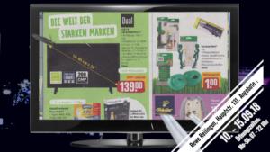 LED - TV, 81 cm, 32 Zoll, nur 139 Euro, Rewe Reilingen, Angebote 10. - 15.09.18